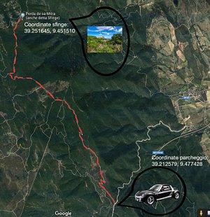 Mappa per arrivare