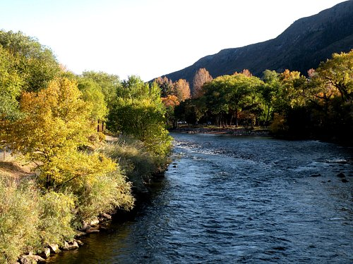 River from Two Rivers Park, Glenwood.