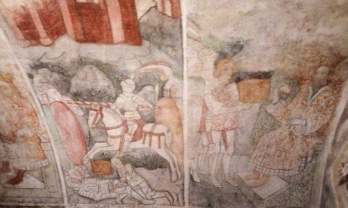 Alcuni affreschi del ciclo