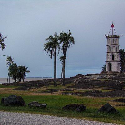 La tour Dreyfus à Kourou, Guyane !