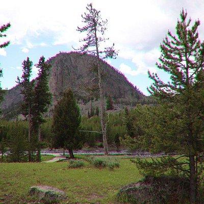 Mount Haynes Overlook at its splendid