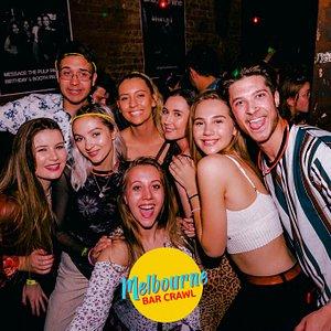 Melbourne Bar Crawl every Thurs, Fri & Sat nights!