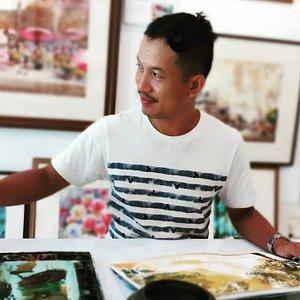 Teacher and artist, Worawuth Srakaeo