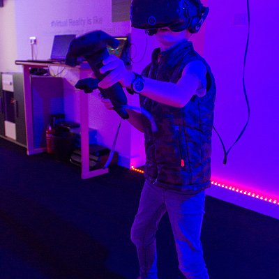 Virtual Reality is open to all ages with an experience ready for everyone!