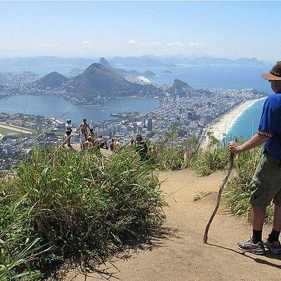 Dois Irmãos Hike - Enjoy the best panoramic landscape view of Rio de Janeiro