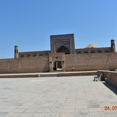 western view from kunya ark