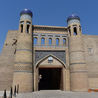 eastern view of gate exterior
