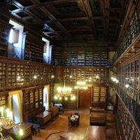 Particolari della biblioteca