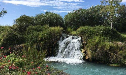 Una cascata, vista dalla sala!