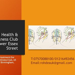 Rohdea Health & Wellness Club  65 Lower Essex Street  Specialist in Chinese and SE Asian Therapy