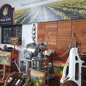 Maquinaria del proceso de vino