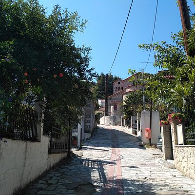 the street to the hill