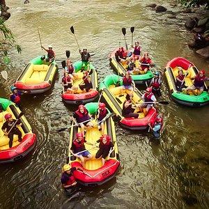 Whitewater Rafting at Gopeng Perak