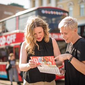 Find places of interest and explore Helsinki the way you like!