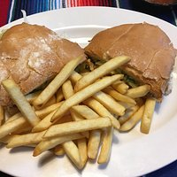 torta with pork, came with fries
