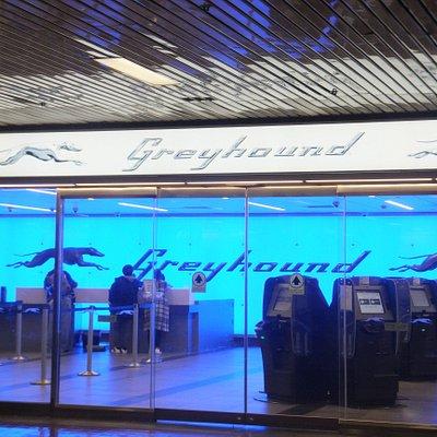 NY Port Authority Bus Terminal inside