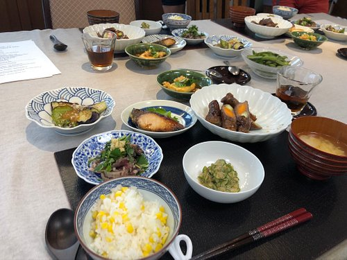 we will cook various seasonal cooking in 3 hours course