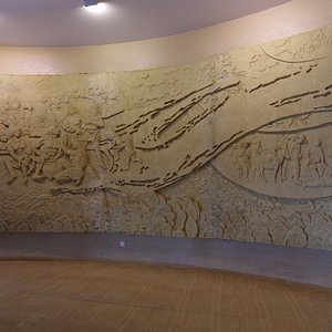 Exhibit at the Water Conservancy Museum of Ningxia