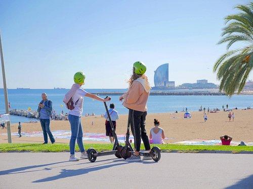 Barcelona On Electric Segway