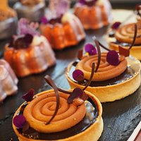 Desserts from in-house patesserie