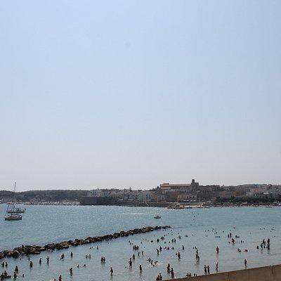 Spiaggia di Otranto vista dall'ape tour