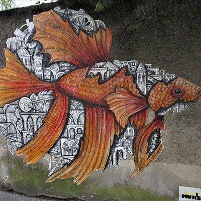 Détail d'un poisson
