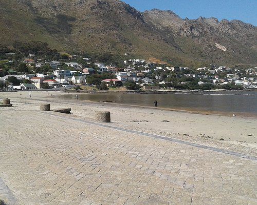 Main beach looking towards the harbour
