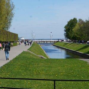 Петергоф, Морской канал