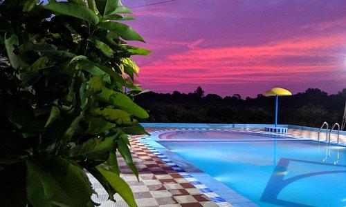 Swimming Pool View at Patang Family Resort