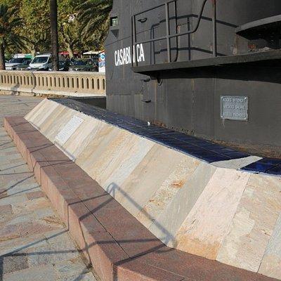 A Bastia, aux abords de la place Saint Nicola vous découvrirez le kiosque du  sous-marin Casablanca. C'est le seul élément à ce jour qui reste de ce sous-marin puisque celui-ci a été ferraillé en février 1956.