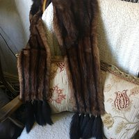 Vintage Mink Stole £14