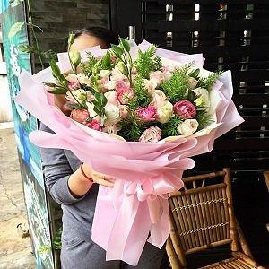 Bó hoa tặng sang trọng Shop hoa Chu Choa Phan Rang- chuchoa.vn