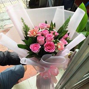 Bó hoa tặng đẹp và giá cực rẻ shop hoa Chu Choa- chuchoa.vn