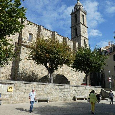 Eglise Sainte Marie in Sartene - outside