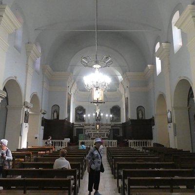 Eglise Sainte Marie in Sartene - inside