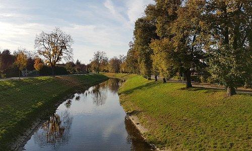 Říjen, řeka Dřevnice