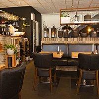 En hyggelig cafe / restaurant