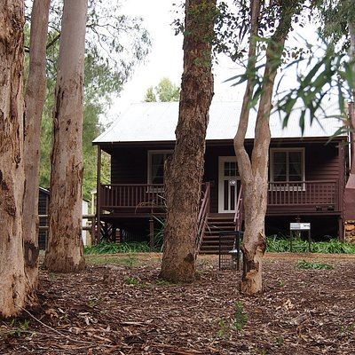 This photo is the group house which has furnishings and artefacts from the group Settlement era in the nineteen twenties .