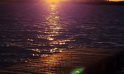 Atardecer en Puerto Pilar