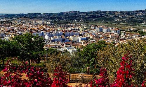Vista de Velez Malaga desde la ermita de los Remedios