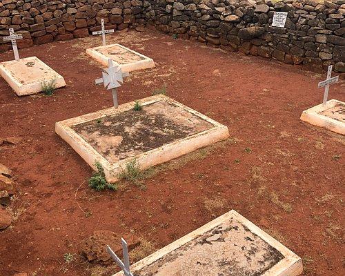 British soldiers graves
