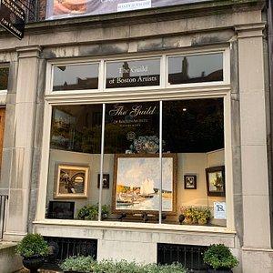 Fantastic art gallery in Boston