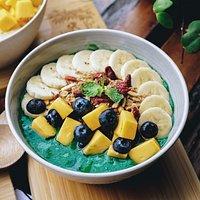 Spirulina Green Bowl