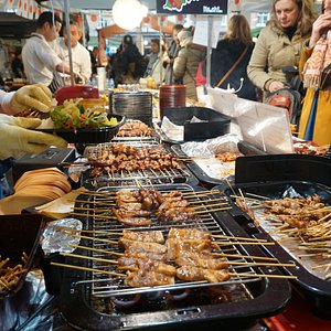 The best selection of street food in London