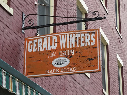 Gerald Winters and Son.  Worth the visit.
