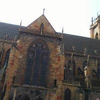The largest church in Colmar: Eglise Saint Martin.
