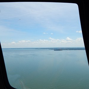 In flight view 2
