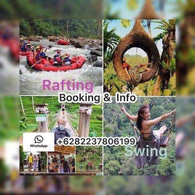 Rafting + Bali swing