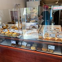 photo of the cookie display