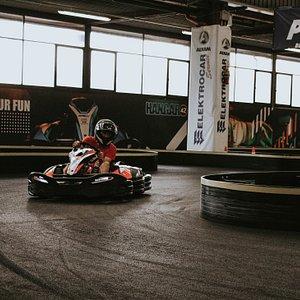 Hangar 42! La nuova pista di Go-Kart a Firenze! Ecco i nostri Kart elettrici!
